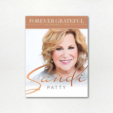 Sandi Patty The Forever Grateful Commemorative Tour Book
