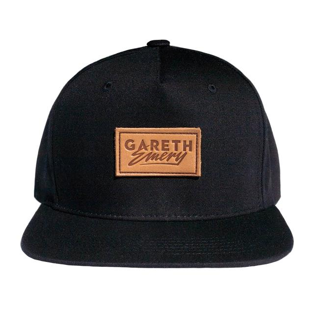 Gareth Emery Leather Label Snapback