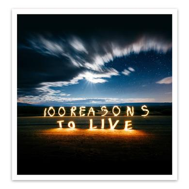 Gareth Emery 100 Reasons To Live Art Print