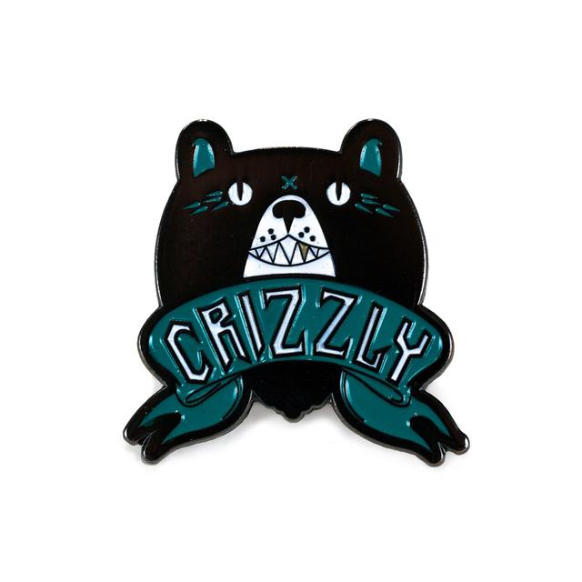 Crizzly Lapel Pin