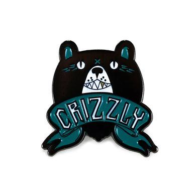 Crizzly Lapel Pin