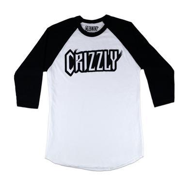 Crizzly Logo Baseball T-Shirt