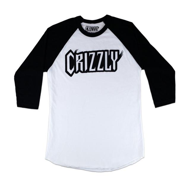 Crizzly Logo Baseball T-Shirt