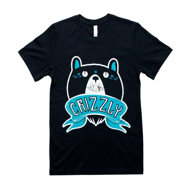 Crizzly Black Logo T-Shirt