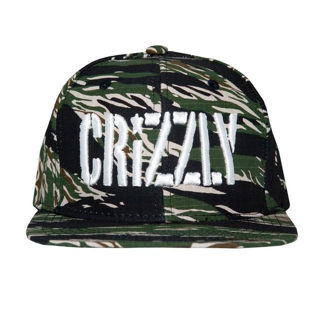 Crizzly Camo Logo Snapback