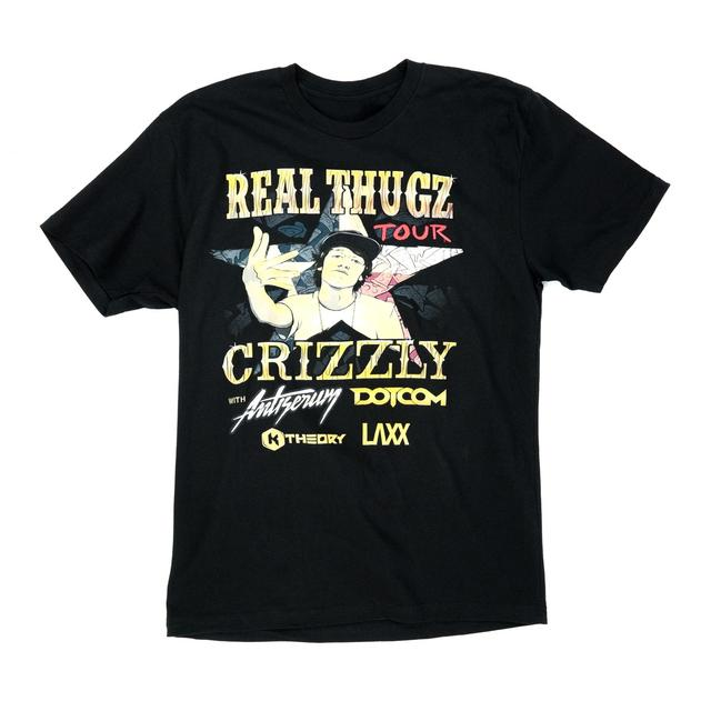 Crizzly Real Thugz Tour Tee
