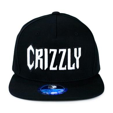 Crizzly Black Snapback
