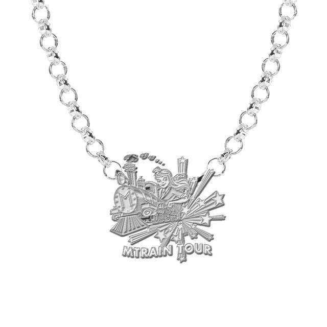 Meghan Trainor MTRAIN Silver Necklace