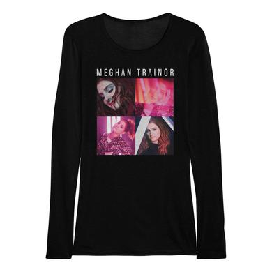 Meghan Trainor Squared Long Sleeve Women's Shirt