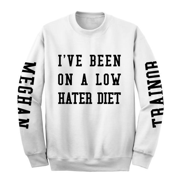 Meghan Trainor Low Hater Diet Crewneck Sweatshirt
