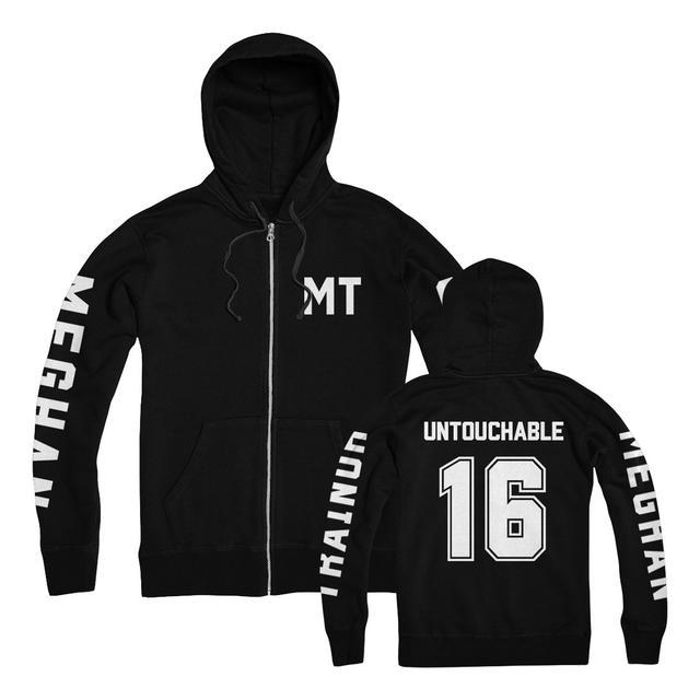 Meghan Trainor Untouchable Zip Up Hoodie