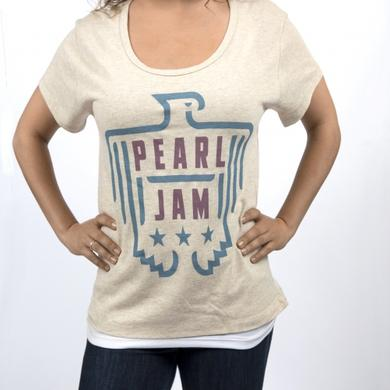 Pearl Jam Ladies Shirt - Star Bird