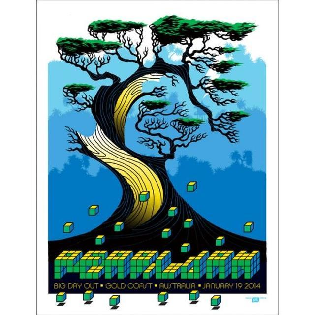Pearl Jam Poster - 2014 Gold Coast