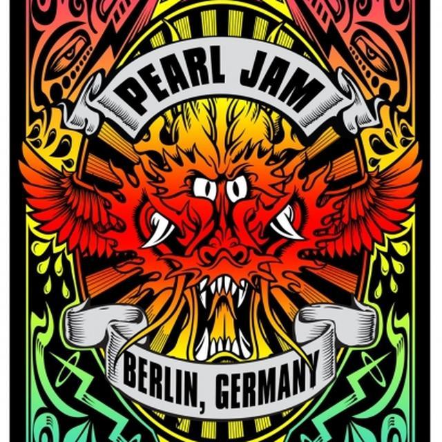 Pearl Jam Poster - Berlin 2014 Poster