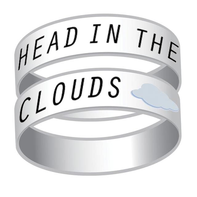 Ariana Grande Head in the Clouds Rubber Bracelet