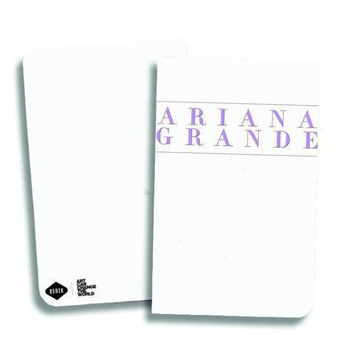 Ariana Grande Pink Logo Notebook