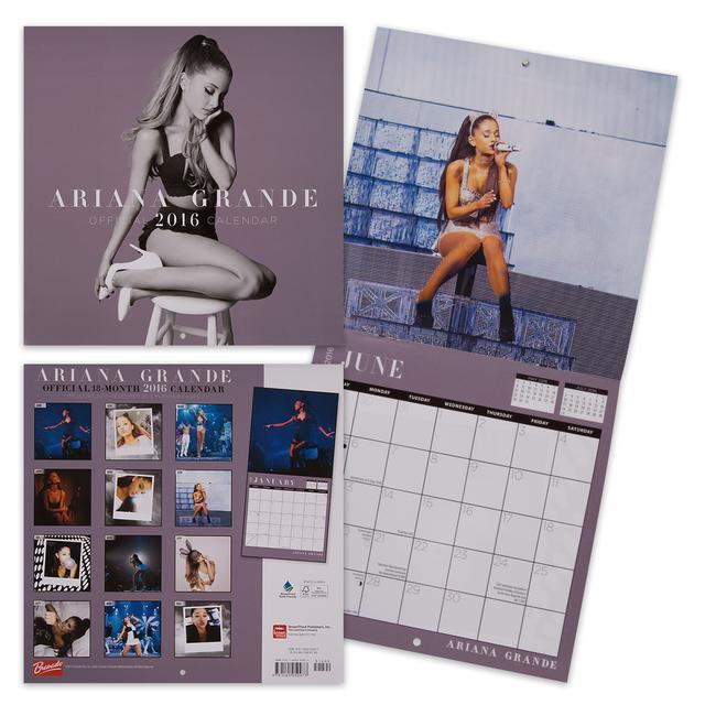 "Ariana Grande 2016 12""x12"" Calendar"
