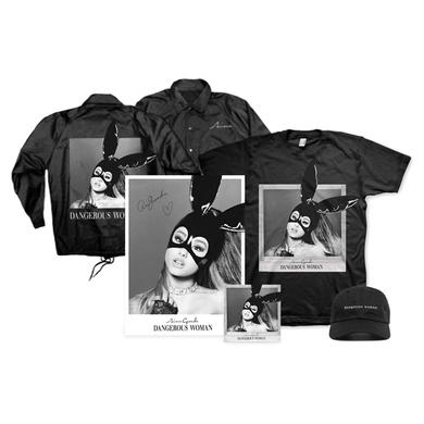 Ariana Grande DANGEROUS WOMAN SIGNED PREMIUM BUNDLE