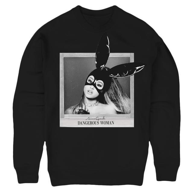 Ariana Grande DANGEROUS WOMAN ALBUM COVER CREW NECK