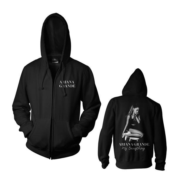 Ariana Grande Hoodie | My Everything Zippered Sweatshirt