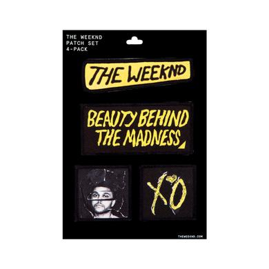 The Weeknd Patches | Beauty Behind the Madness Patches