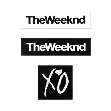 THE WEEKND XO STICKER PACK