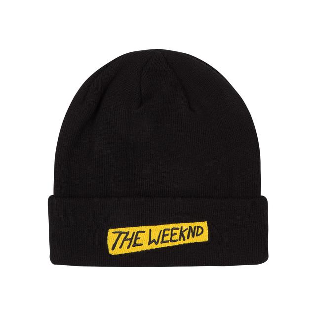 "The Weeknd Beanie ""Beauty Behind the Madness"""