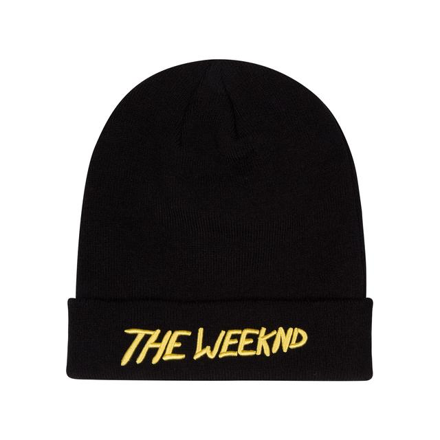The Weeknd THE MADNESS LOGO BEANIE