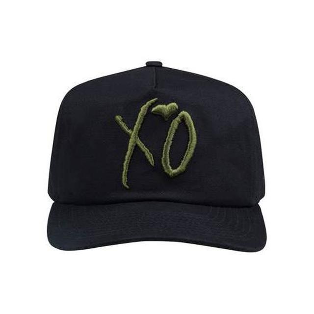 The Weeknd XO CLASSIC LOGO HUNTER BLACK NEW ERA OLD GOLFER STRAPBACK