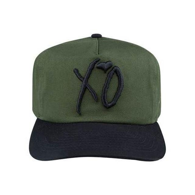 The Weeknd XO CLASSIC LOGO HUNTER GREEN NEW ERA OLD GOLFER STRAPBACK