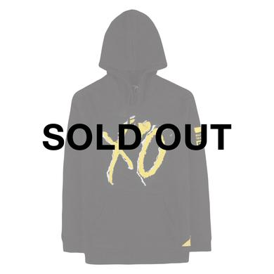 The Weeknd BEAUTY BEHIND THE MADNESS XO LOGO CUT & SEW UNISEX PULLOVER HOODY