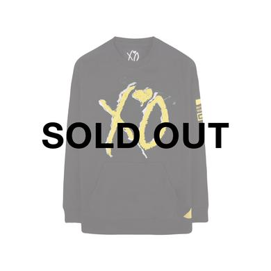 The Weeknd BEAUTY BEHIND THE MADNESS XO LOGO CUT & SEW UNISEX RAGLAN CREWNECK
