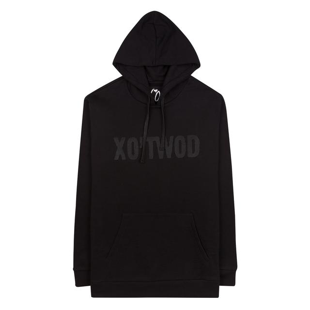 "The Weeknd ""XO'TWOD"" BLACK / HUNTER GREEN CUT AND SEW UNISEX PULLOVER HOODIE"