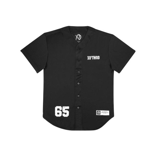 The Weeknd XO'TWOD MESH UNISEX BASEBALL JERSEY