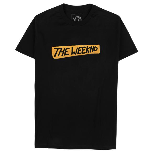 The Weeknd Logo T Shirt
