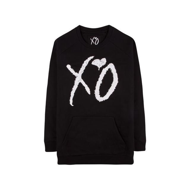 The Weeknd XO CLASSIC LOGO CUT AND SEW UNISEX RAGLAN SLEEVE CREWNECK SWEATER