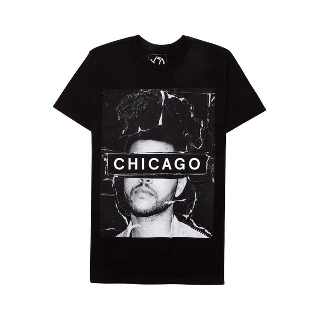 The Weeknd THE MADNESS CITY UNISEX TEE - CHICAGO