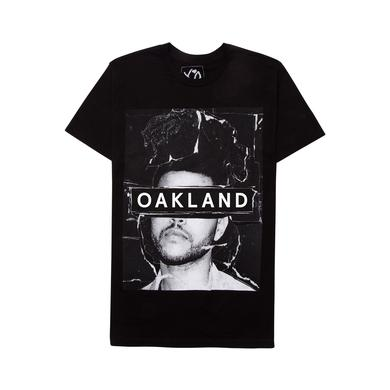 The Weeknd THE MADNESS CITY UNISEX TEE - OAKLAND