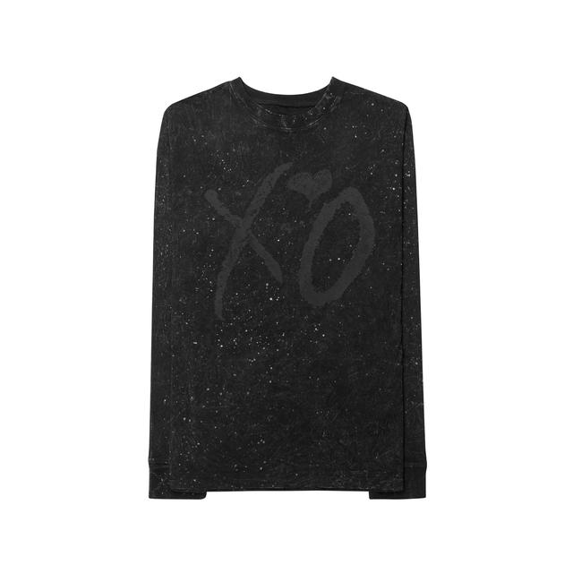 The Weeknd XO CLASSIC LOGO WINTER WASH UNISEX LONG SLEEVE TEE