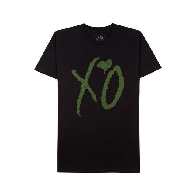 The Weeknd XO CLASSIC LOGO BLACK / HUNTER GREEN UNISEX TEE