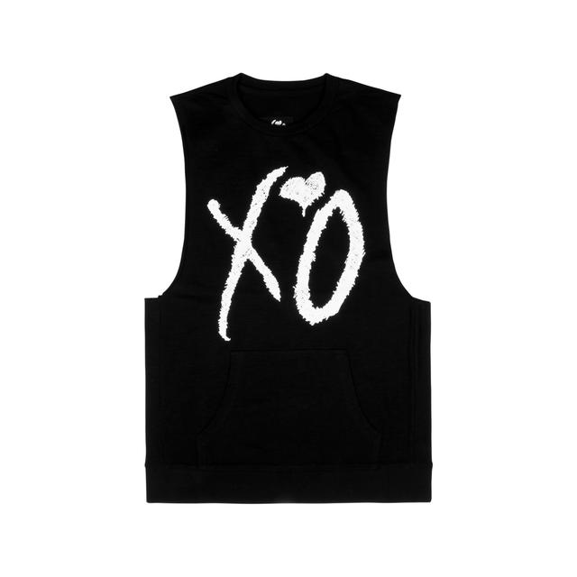 The Weeknd XO CLASSIC LOGO SLEEVELESS UNISEX CREWNECK