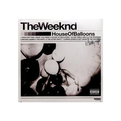 THE WEEKND HOUSE OF BALLOONS LP