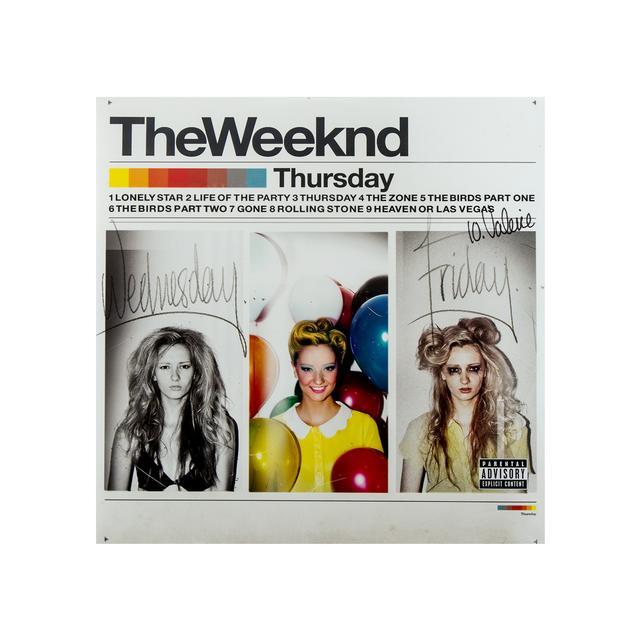 The Weeknd Thursday LP Vinyl Record