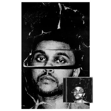 The Weeknd Beauty Behind the Madness Lithograph & Album