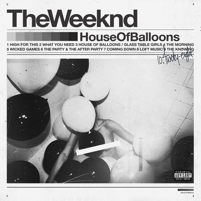 THE WEEKND HOUSE OF BALLOONS CD OR MP3