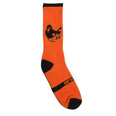 Odd Future OFWGKTA CAT SOCK ORANGE