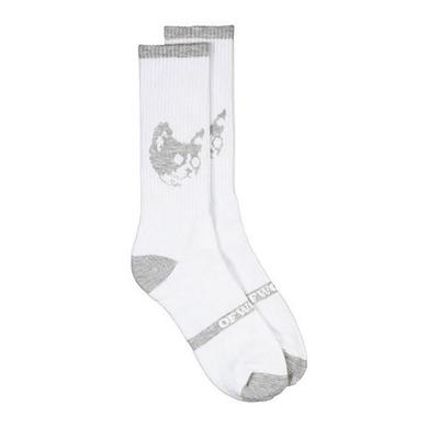 Odd Future OFWGKTA CAT SOCKS WHITE