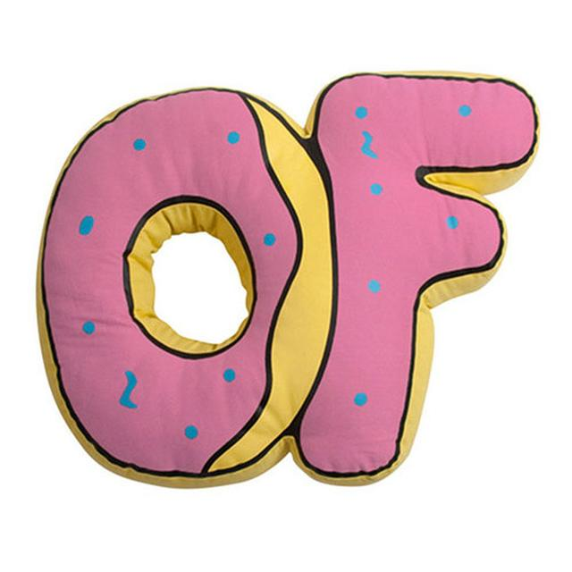 Odd Future OF DONUT PILLOW 8""""