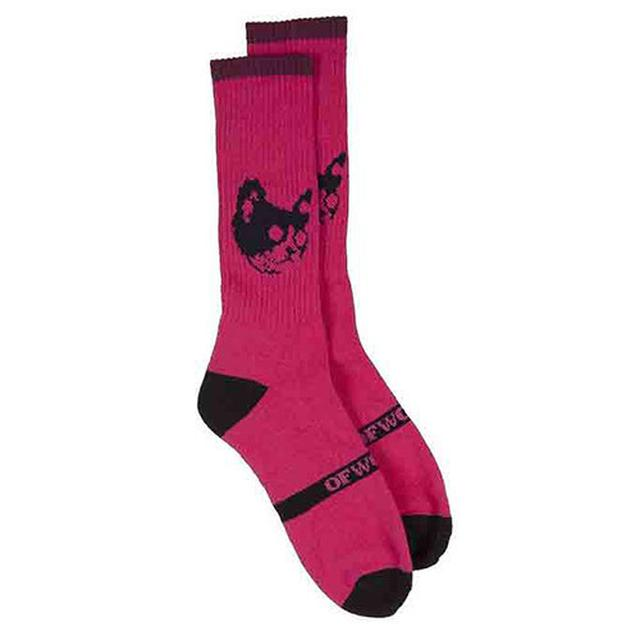 Odd Future OF CAT SOCKS PINK