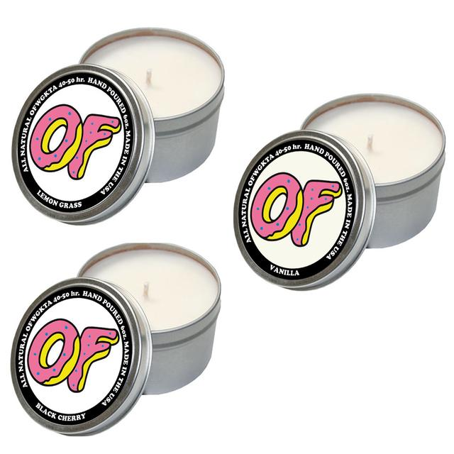 Odd Future SET OF 3 OF CANDLES